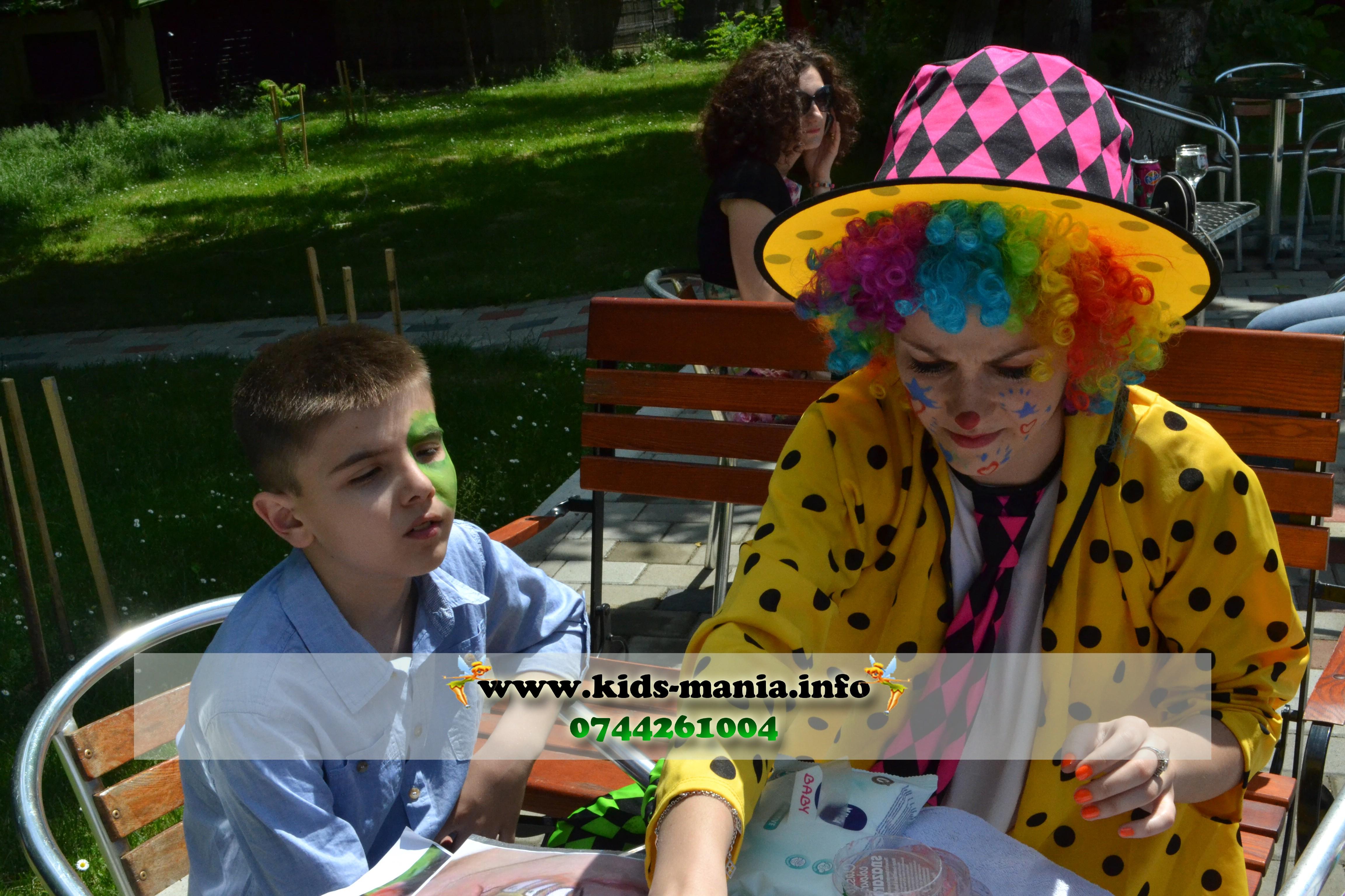 Organizari petreceri copii la domiciliu in Iasi