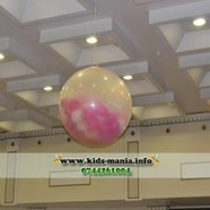 balon jumbo transparent iasi