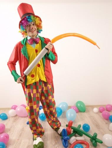 costum de clown pentru animatori la petreceri pentru copii in Iasi (7)