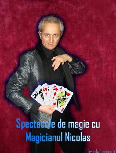 Spectacole de Magie cu Magicianul Nicolas in Iasi