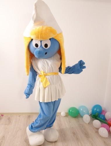 Strumfii - mascote hostess petreceri pentru copii iasi (2)