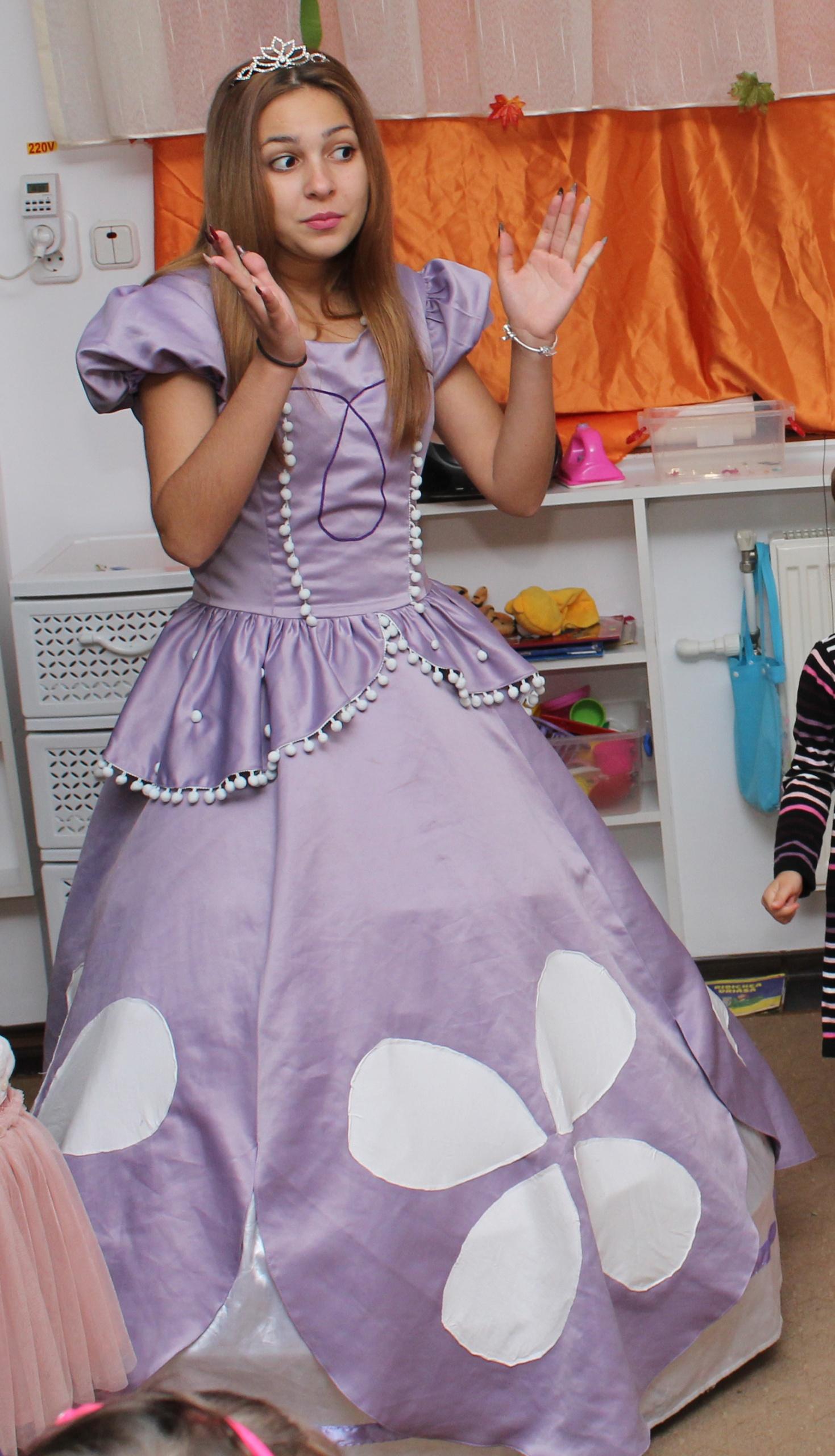 Printesa Sofia personaj in Iasi