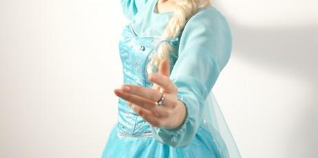 Anna si Elsa din Frozen in Iasi (3)