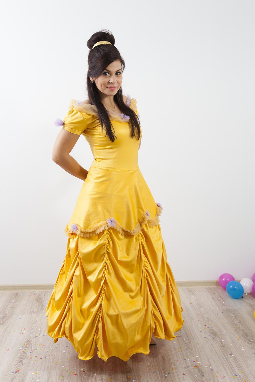 Printesa Belle personaj in Iasi