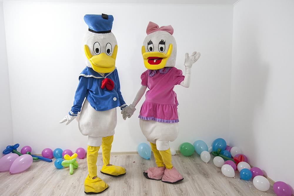 Donald si Daisy animatori la petreceri in Iasi