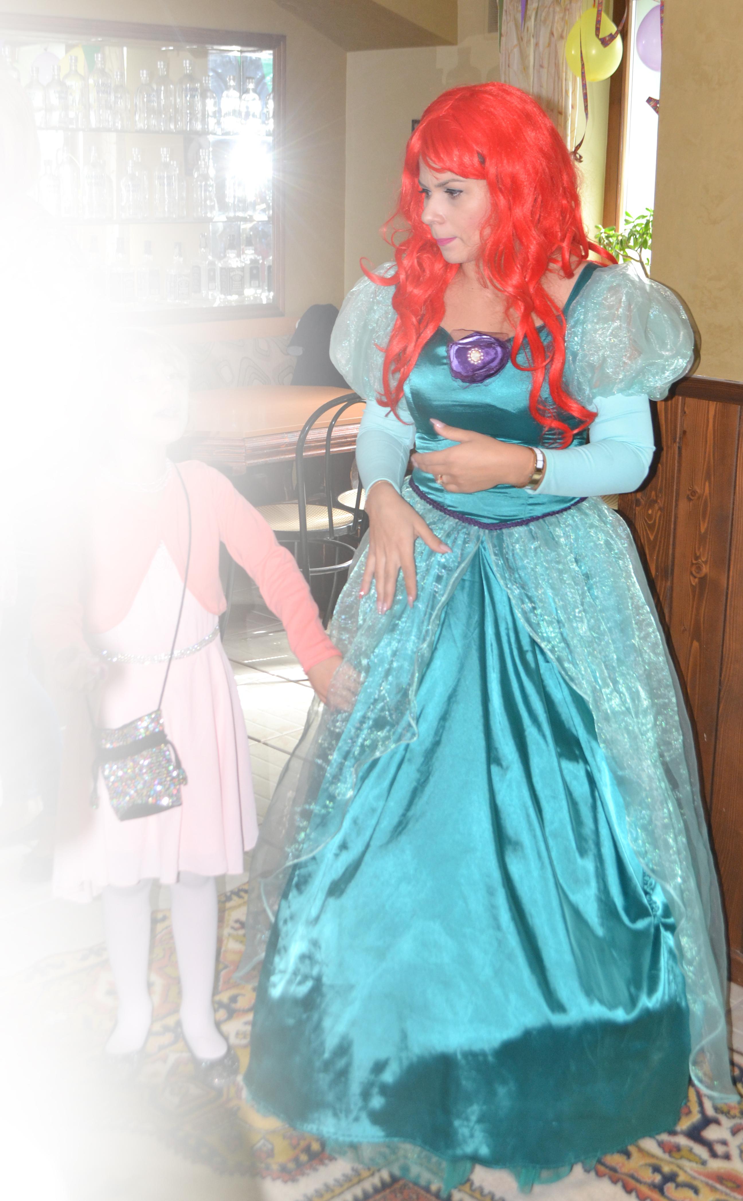 Printesa Ariel animatoare in Iasi