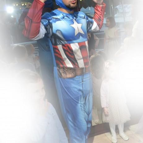 capitan america - animator la petreceri pentru copii in Iasi