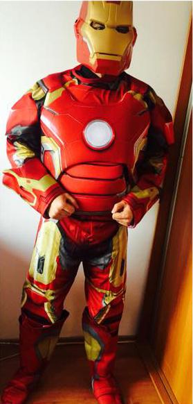 Costum animator Iron Man sau Omul de fier in Iasi