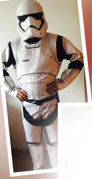 Costum animator Star Wars Stormtrooper Iasi