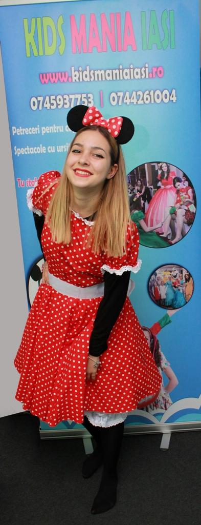 Minnie Mouse varianta simpla la petreceri pentru copii in Iasi