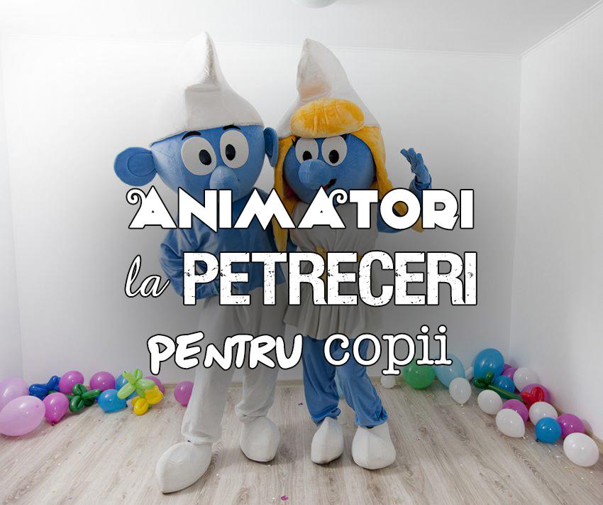 Animatori petreceri copii Iasi