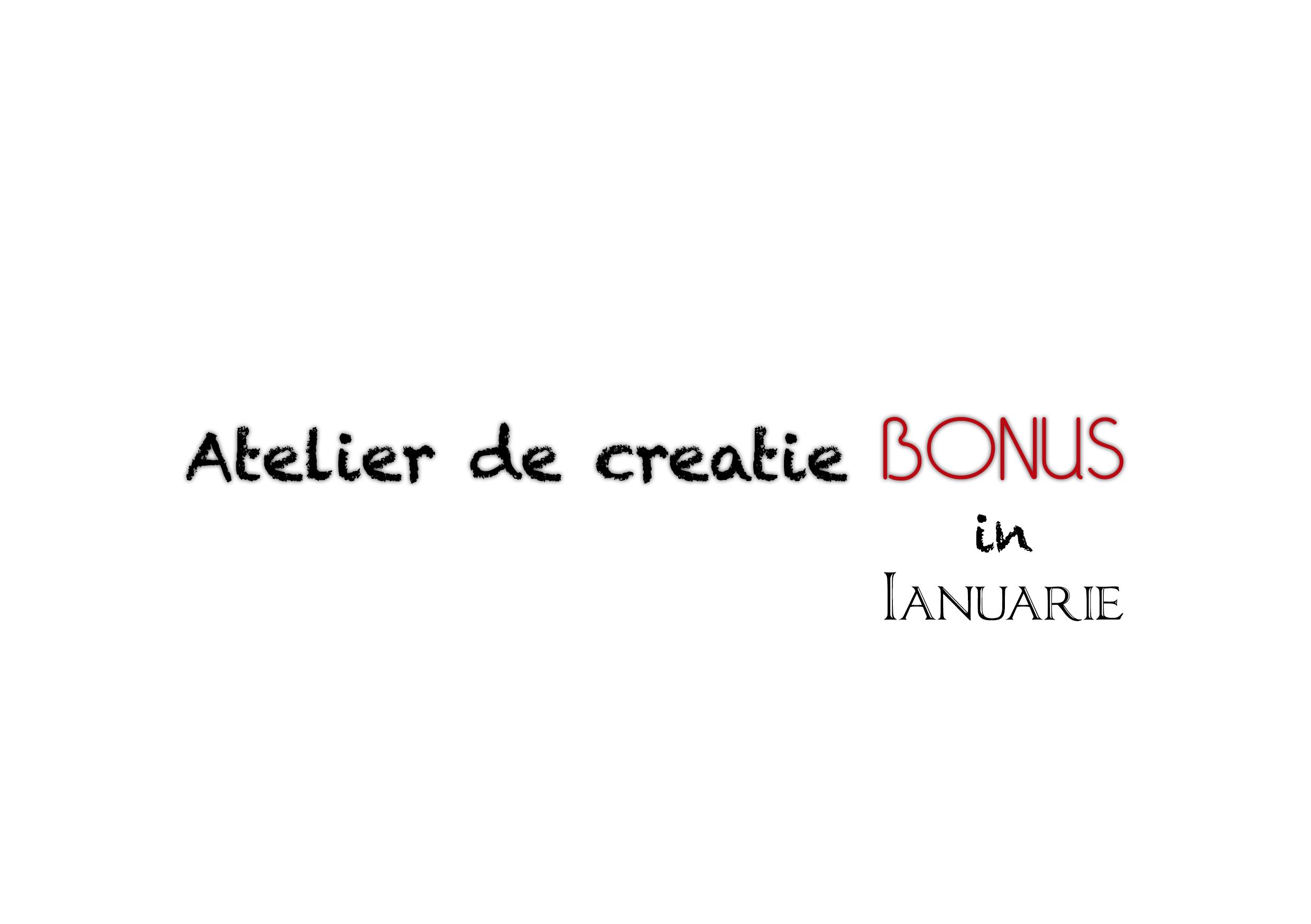 Petreceri pentru copii Iasi – atelier de creatie bonus in ianuarie