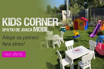 Kids Corner - spatiu de joaca mobil in Iasi